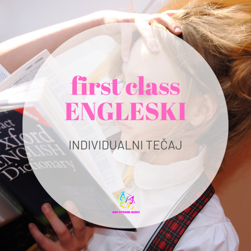 First class individualni tečaj engleskog jezika