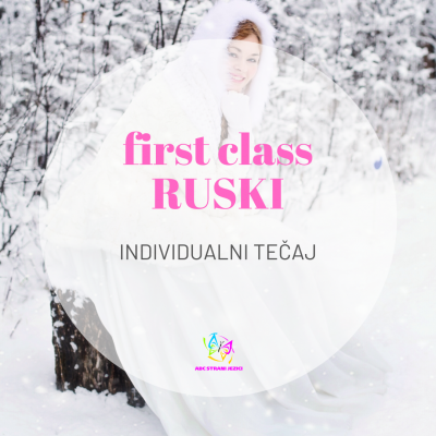 First class individualni tečaj ruskog jezika