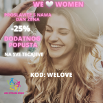 WE LOVE WOMEN: - 25% DODATNOG POPUSTA